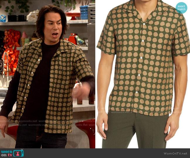 NN07 Miyagi Shirt in Army worn by Spencer Shay (Jerry Trainor) on iCarly