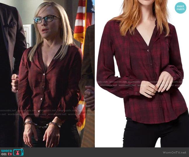 Taryn Shirt by Paige worn by Linda Martin (Rachael Harris) on Lucifer