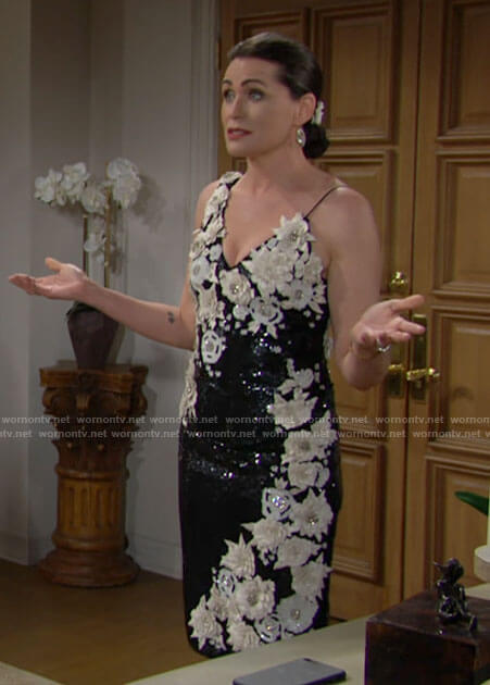 Quinn's vow renewal dress on The Bold and the Beautiful