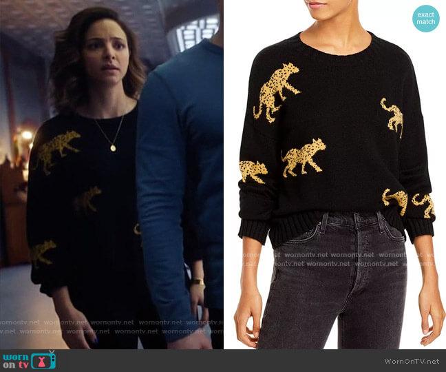 Rails Perci Jungle Cat Sweater worn by Zari Tomaz (Tala Ashe) on Legends of Tomorrow