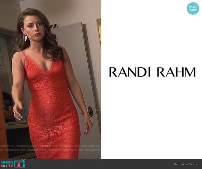 Couture Collection by Randi Rahm worn by Katie Thurston  on The Bachelorette