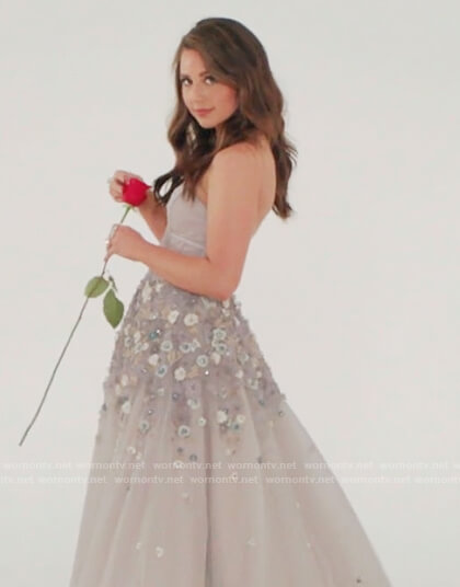 Katie's promo dress on The Bachelorette