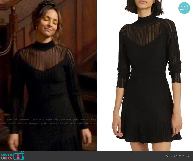Reiss Clemmy Dress worn by Zari Tomaz (Tala Ashe) on Legends of Tomorrow