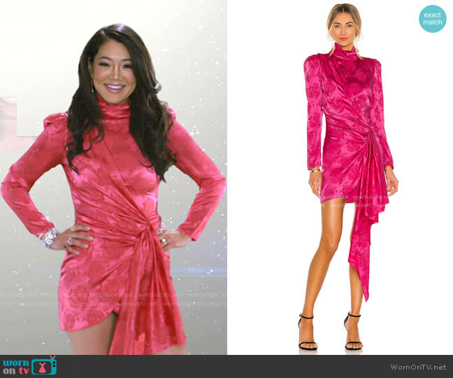 Ria Dress by Ronny Kobo worn by Crystal Kung Minkoff  on The Real Housewives of Beverly Hills