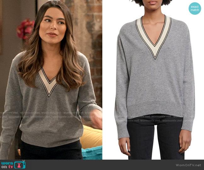 Sandro Camie Sweater worn by Carly Shay (Miranda Cosgrove) on iCarly