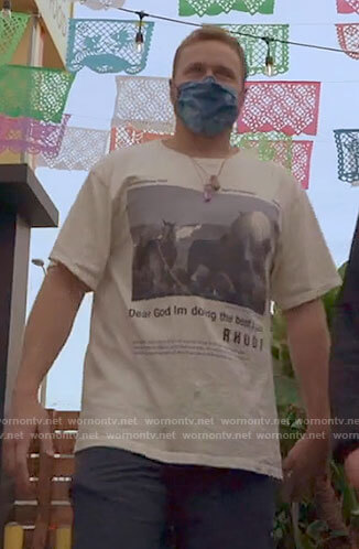 Spencer's horse graphic tee on The Hills New Beginnings