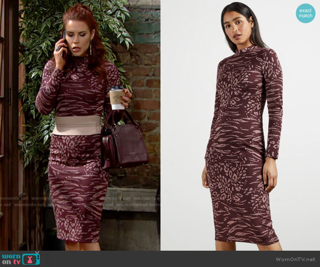 Ted Baker Deeh Dress worn by Sally Spectra (Courtney Hope) on The Young & the Restless