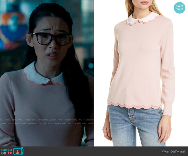 Ted Baker Lheo Sweater worn by Swan on Charmed