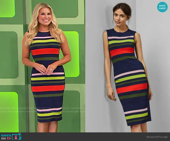 Ted Baker Ysina Dress worn by Rachel Reynolds  on The Price is Right