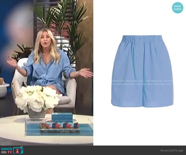 Lui Organic Cotton Boxer Shorts by The Frankie Shop worn by Morgan Stewart  on E! News