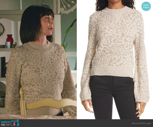 Tilda Sweater by Veronica Beard worn by Cassandra Nightingale (Catherine Bell) on Good Witch