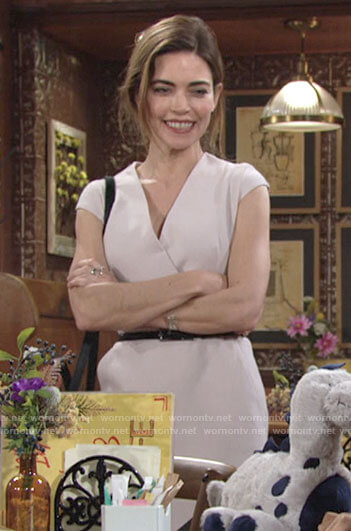 Victoria's cap sleeve sheath dress on The Young and the Restless