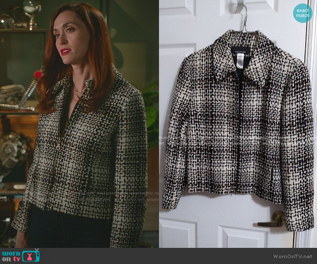 Vintage Jacket by Jones New York worn by Abigail Pershing (Sarah Power) on Good Witch