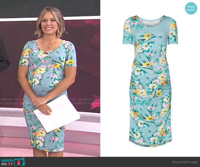 Blossom Maternity Dress by Yumi Kim worn by Dylan Dreyer  on Today