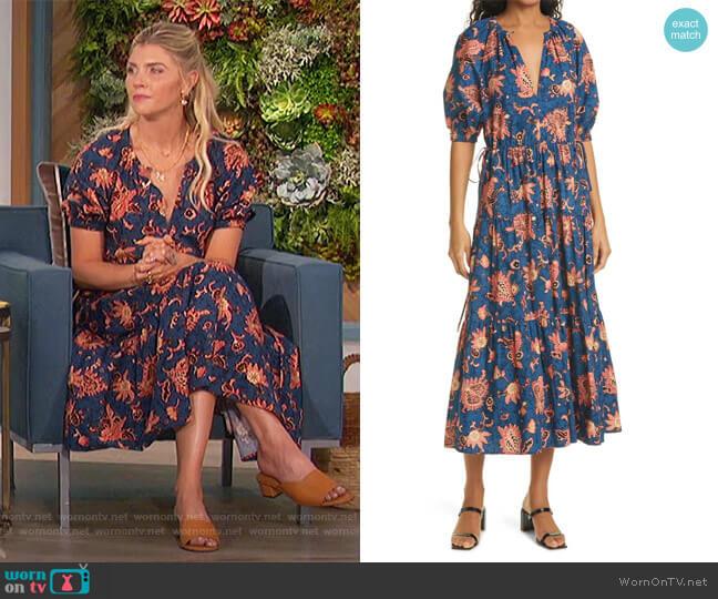 Mischa Midi Dress by A.L.C. worn by Amanda Kloots  on The Talk