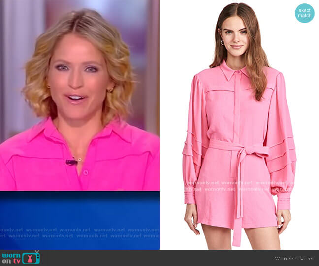 Enza Romper by Alexis worn by Sara Haines  on The View