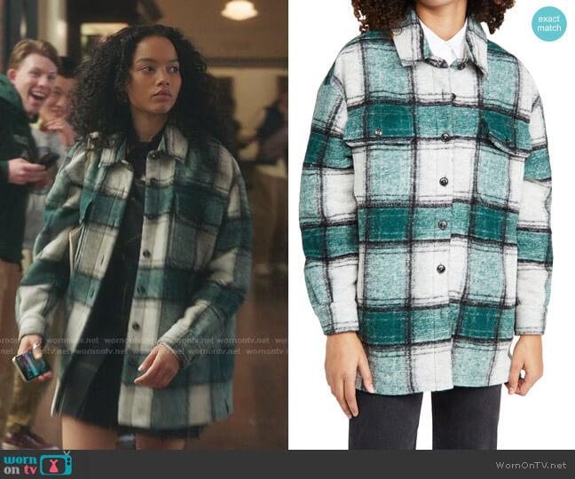 Titania Jacket by Closed worn by Zoya Lott (Whitney Peak) on Gossip Girl