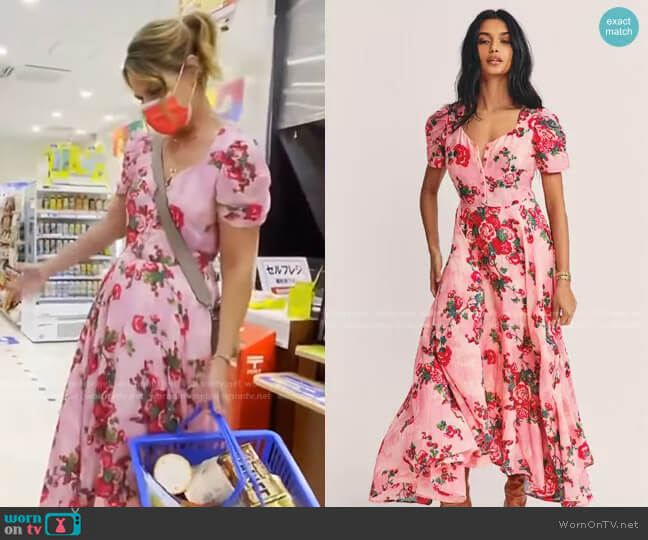 Coralie Maxi Dress by Love Shack Fancy worn by Savannah Guthrie  on Today