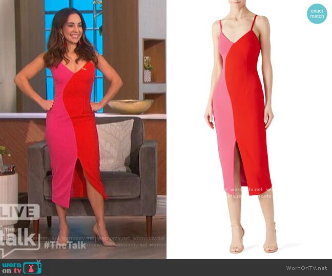 Sydne Dress by Elliatt worn by Mariana Atencio on The Talk
