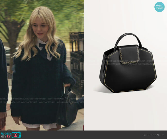Top Handle Bag by Cartier worn by Audrey Hope (Emily Alyn Lind) on Gossip Girl
