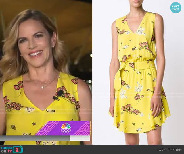 Hadley Dress by A.L.C. worn by Natalie Morales  on Today