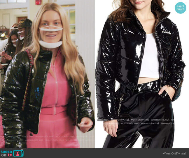 Road Warrior Jacket by I AM GIA worn by Leah McSweeney  on The Real Housewives of New York City