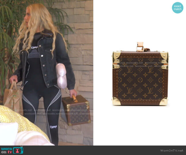 Monogram Cosmetic Box by Louis Vuitton worn by Dorit Kemsley  on The Real Housewives of Beverly Hills