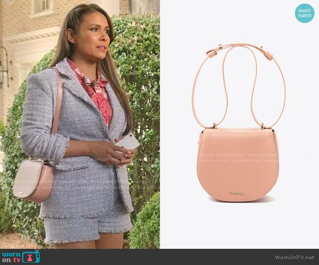Iris Bag by Miomojo worn by Cristal Jennings (Daniella Alonso) on Dynasty