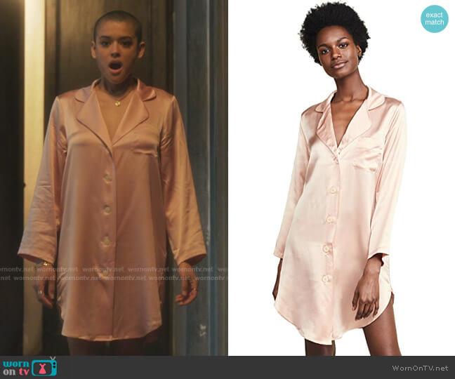 Jillian Night Shirt by Morgan Lane worn by Julien Calloway (Jordan Alexander) on Gossip Girl