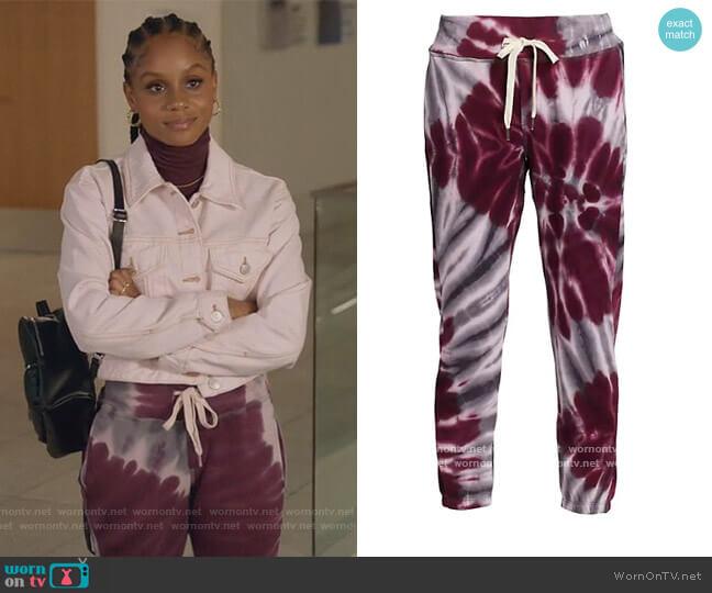 Sayde Sweatpants by NSF worn by Simone Hicks (Geffri Maya) on All American