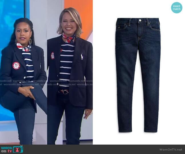 Team USA Skinny Jeans in Indigo Blue by Ralph Lauren x Team USA worn by Dylan Dreyer  on Today