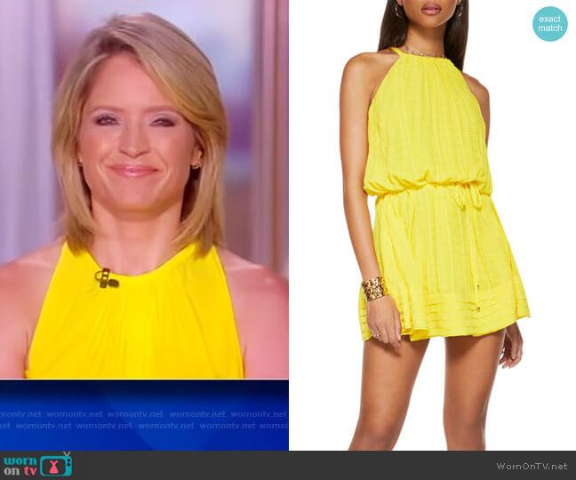 Bobbi Swing Mini Dress by Ramy Brook worn by Sara Haines  on The View