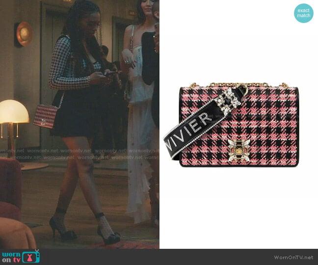 Miss Vivier Buckle Bag by Roger Vivier worn by Monet de Haan (Savannah Lee Smith) on Gossip Girl