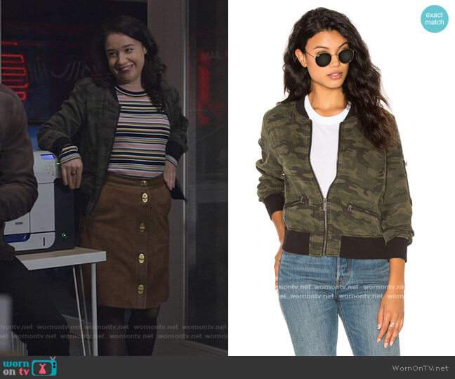 Bomber Jacket by Sanctuary worn by Marissa Gold (Sarah Steele) on The Good Fight