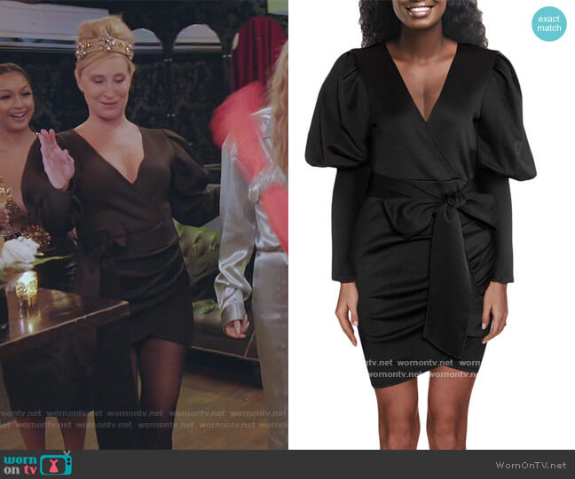Evelyn Mini Dress by Sonja Morgan worn by Sonja Morgan  on The Real Housewives of New York City
