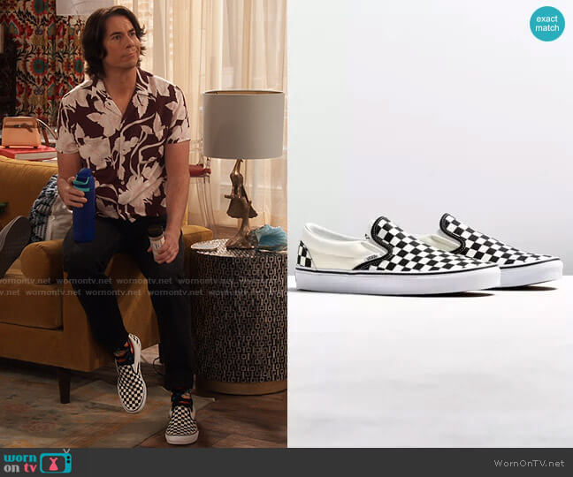 Vans Core Slip-On Sneaker  worn by Spencer Shay (Jerry Trainor) on iCarly