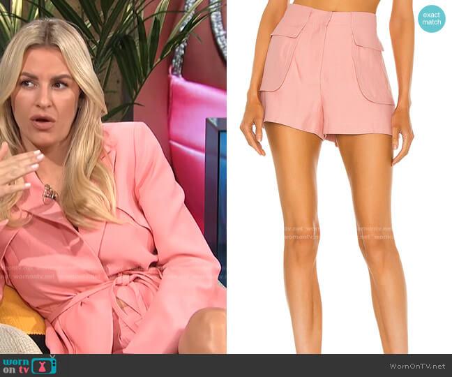 Yoshi Shorts by Alexis worn by Morgan Stewart  on E! News