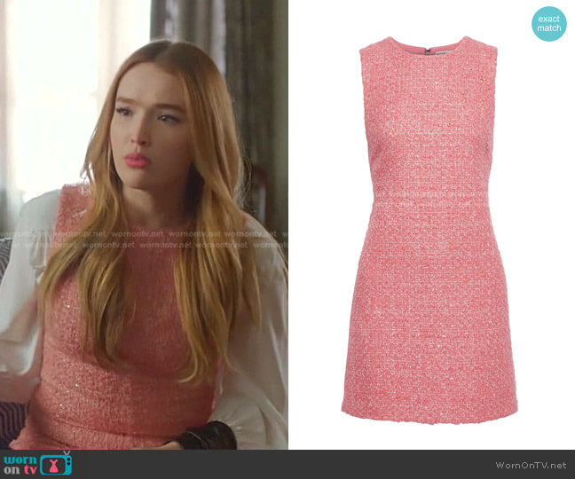 Coley Dress by Alice + Olivia worn by Kirby Anders (Maddison Brown) on Dynasty