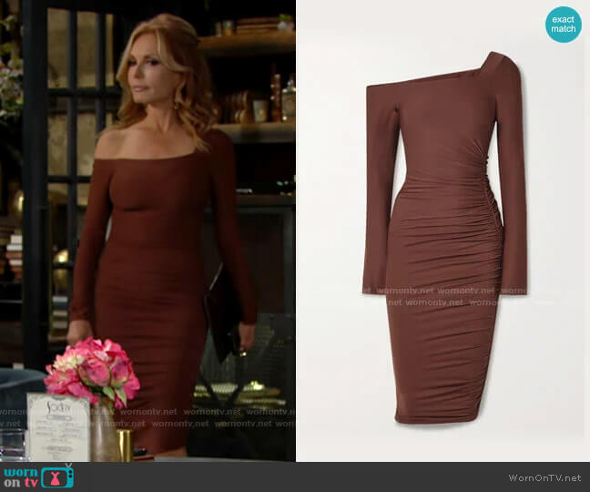 Alix NYC Chambers Dress worn by Lauren Fenmore (Tracey Bregman) on The Young & the Restless
