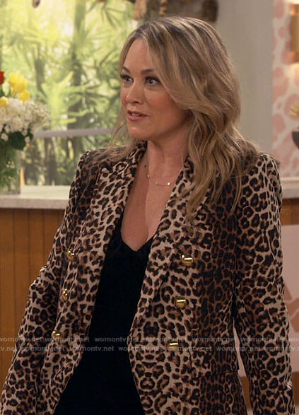Argentina's leopard print blazer on iCarly