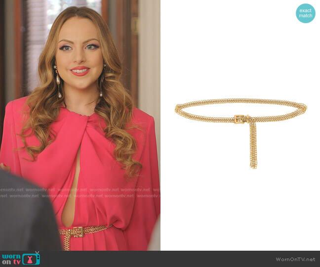 Audrey Mini Belt by B-Low The Belt worn by Fallon Carrington (Elizabeth Gillies) on Dynasty