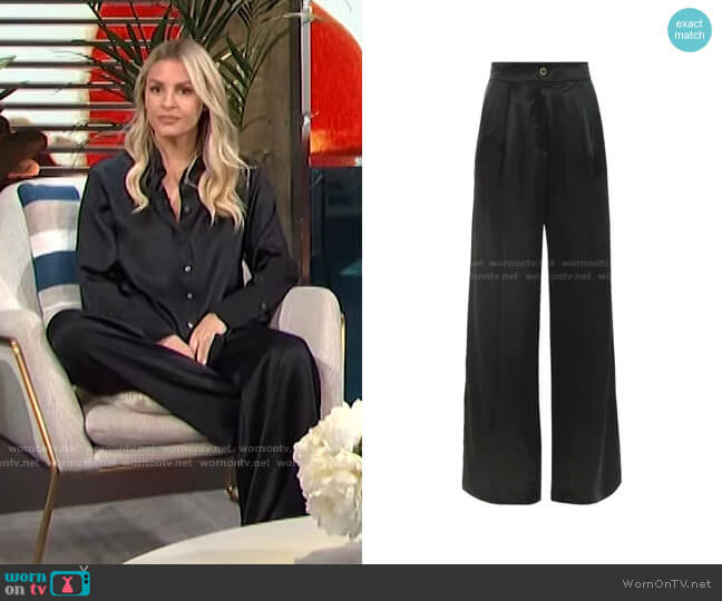 Roma Pant by Bardo Collective worn by Morgan Stewart  on E! News