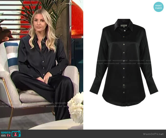 Trevi Shirt by Bardo Collective worn by Morgan Stewart  on E! News