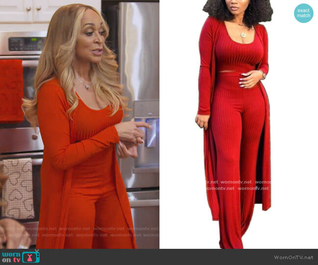 3 Piece Outfit by BBpawing worn by Karen Huger  on The Real Housewives of Potomac