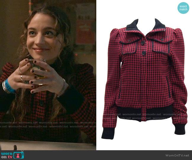 Billabong Lumber Jane Jacket worn by Sarah Cooper (Stella Baker) on The Republic of Sarah
