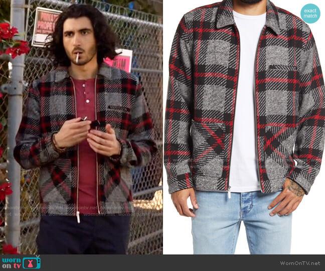 BP Oversize Plaid Jacket worn by Behrad Tarazi (Shayan Sobhian) on Legends of Tomorrow