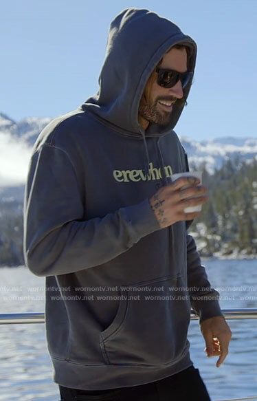 Brody's erewhon hoodie on The Hills New Beginnings