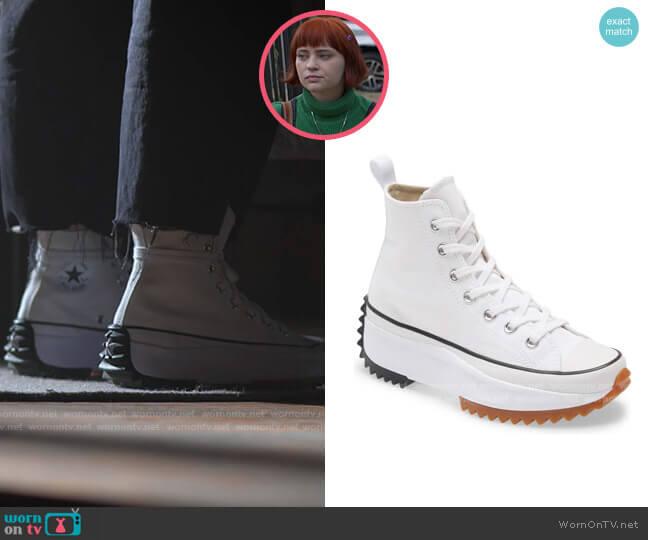 Converse Run Star High Top Sneakers worn by Scarlett (Sierra McCormick) on American Horror Stories