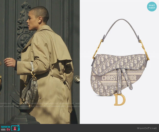 Saddle Bag by Dior worn by Julien Calloway (Jordan Alexander) on Gossip Girl