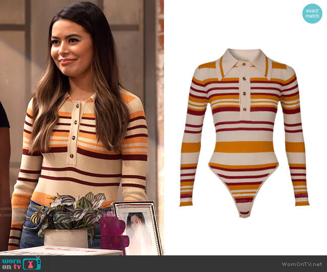 Dodo Bar Or Penny Bodysuit worn by Carly Shay (Miranda Cosgrove) on iCarly